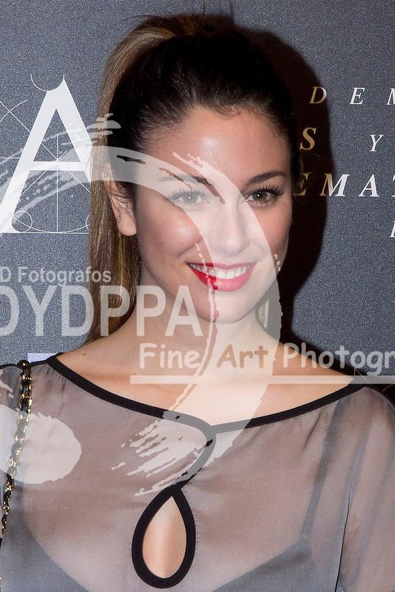 28/01/2012. Real Casa de Correos. Madrid. Spain. Goya Awards Nominated Gala 2012. Blanca Suarez