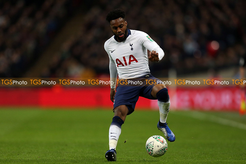 Danny Rose of Tottenham Hotspur during Tottenham Hotspur vs Chelsea, Caraboa Cup Football at Wembley Stadium on 8th January 2019