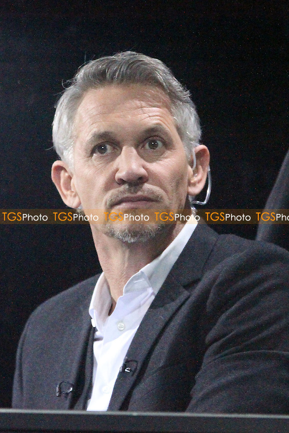 Gary Lineker - Cambridge United vs Manchester United - FA Challenge Cup 4th Round Football at the R Costings Abbey Stadium, Cambridge - 23/01/15 - MANDATORY CREDIT: Mick Kearns/TGSPHOTO - Self billing applies where appropriate - contact@tgsphoto.co.uk - NO UNPAID USE