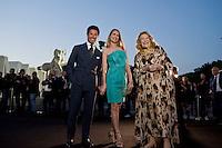 Roma, 5 Giugno, 2013. Matteo Marzotto, Isabella Borromeo and Marta Marzotto al 'One Night Only' Roma organizzato da Giorgio Armani al Palazzo della Civilta Italiana.