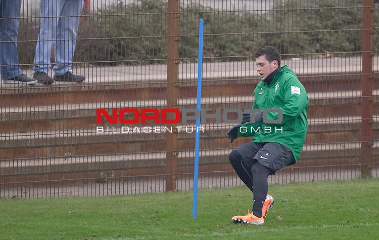 23.01.2014, Trainingsgelaende, Bremen, GER, 1.FBL, Training Werder Bremen, im Bild Zlatko Junuzovic (Bremen #16)<br /> <br /> Foto &copy; nordphoto / Frisch