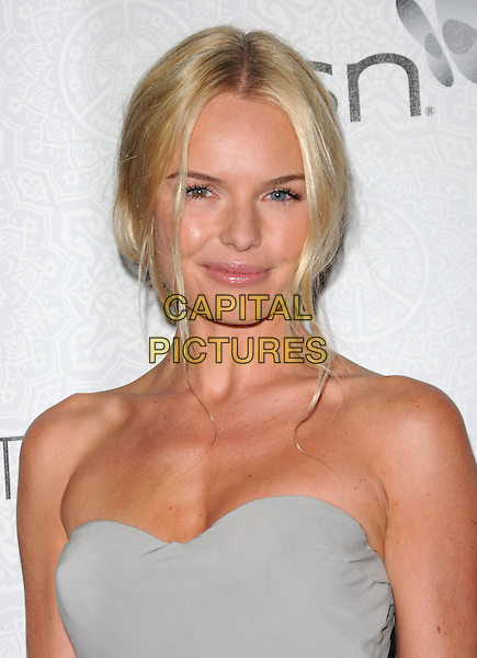 "KATE BOSWORTH.Art of Elysium 3rd Annual Black Tie charity gala '""Heaven"" held at 990 Wilshire Blvd in Beverly Hills, California, USA, .January 16th 2010 .headshot portrait blue grey gray strapless.CAP/RKE/DVS .©DVS/RockinExposures/Capital Pictures"