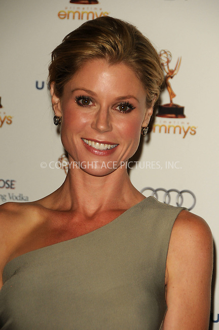WWW.ACEPIXS.COM . . . . .  ....September 16 2011, LA....Julie Bowen arriving at the 63rd Annual Emmy Awards Performers Nominee Reception held at Pacific Design Center on September 16, 2011 in West Hollywood, California. ....Please byline: PETER WEST - ACE PICTURES.... *** ***..Ace Pictures, Inc:  ..Philip Vaughan (212) 243-8787 or (646) 679 0430..e-mail: info@acepixs.com..web: http://www.acepixs.com