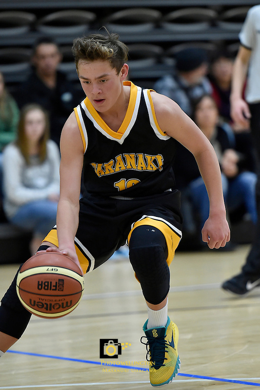 Action from the Basketball - U15 National Championships at ASB Sports Centre, Wellington, New Zealand on Thursday  16 July 2015.<br /> Photo by Masanori Udagawa. <br /> www.photowellington.photoshelter.com.