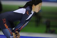SCHAATSEN: HEERENVEEN: IJsstadion Thialf, 08-02-15, World Cup, 500 Ladies Division A, Sang-Hwa Lee (KOR), ©foto Martin de Jong
