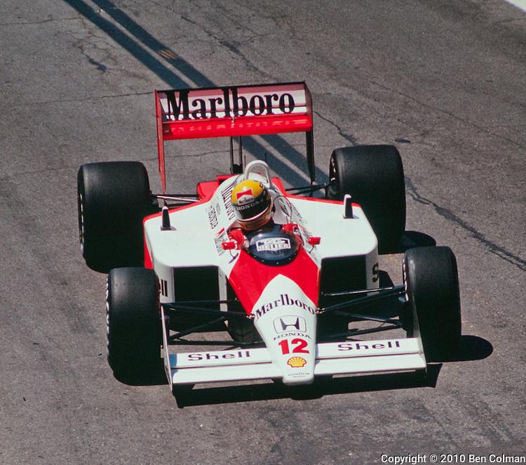 Ayrton Senna, McLaren MP4-4, Detroit 1988