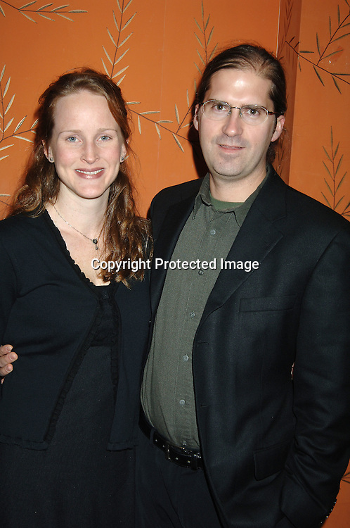 Tari Signor and husband Ben Fitz..at the One Life To Live Christmas Party at LQ on     December 12, 2005. ..Photo by Robin Platzer, Twin Images