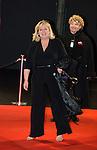 Charlotte de Turckheim arrive à la cérémonie des César 2014, France, Paris, Théatre du Chatelet
