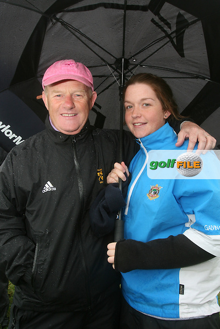Barry and Nicola Reddan at the 3 Irish Open Golf in Baltray...Photo NEWSFILE/Jenny Matthews.(Photo credit should read Jenny Matthews/NEWSFILE)....This Picture has been sent you under the condtions enclosed by:.Newsfile Ltd..The Studio,.Millmount Abbey,.Drogheda,.Co Meath..Ireland..Tel: +353(0)41-9871240.Fax: +353(0)41-9871260.GSM: +353(0)86-2500958.email: pictures@newsfile.ie.www.newsfile.ie.FTP: 193.120.102.198.