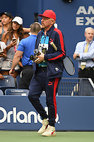 FLUSHING NY- SEPTEMBER 02: Boris Becker seen at Arthur Ashe Stadium at the USTA Billie Jean King National Tennis Center on September 2, 2016 in Flushing Queens. Credit: mpi04/MediaPunch