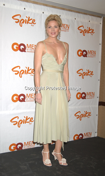 """Kim Cattrall in Donna Karan                               ..at the Eighth Annual GQ """" Men of the Year """" Awards on ..Spike TV on October 21, 2003 at the Regent Wall Street  ..in New York City. Photo by Robin Platzer, Twin Images"""