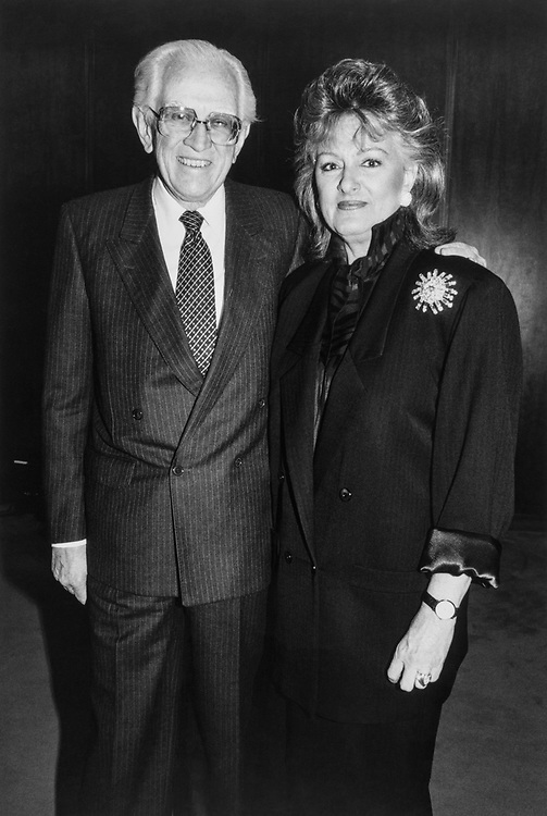 Sen. Howard Metzenbaum, D-Ohio with  BMI President Frances Preston in 1994. (Photo by CQ Roll Call)