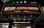 Theatre Marquee for the Broadway Opening Night Performance Curtain Call for 'The Mystery of Edwin Drood' at Studio 54 in New York City on 11/13/2012