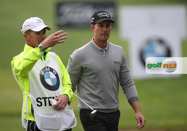 Henrik Stenson (SWE) turned on the charm and hit low (65) for a play-off position during the Final Round of the BMW International Open 2014 from Golf Club Gut Lärchenhof, Pulheim, Köln, Germany. Picture:  David Lloyd / www.golffile.ie