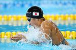 Satomi Suzuki (JPN), <br /> AUGUST 19, 2018 - Swimming : <br /> Women's 100m Breaststroke Heat <br /> at Gelora Bung Karno Aquatic Center <br /> during the 2018 Jakarta Palembang Asian Games <br /> in Jakarta, Indonesia. <br /> (Photo by Naoki Nishimura/AFLO SPORT)