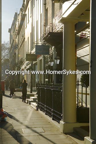 Bruton Street London W1. UK