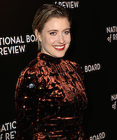 www.acepixs.com<br /> <br /> January 4 2017, New York City<br /> <br /> Greta Gerwig arriving at the 2016 National Board of Review Gala at Cipriani 42nd Street on January 4, 2017 in New York City. <br /> <br /> By Line: Nancy Rivera/ACE Pictures<br /> <br /> <br /> ACE Pictures Inc<br /> Tel: 6467670430<br /> Email: info@acepixs.com<br /> www.acepixs.com