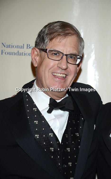 Jonathan Galassi attends the 2013 National Book Awards Dinner and Ceremony on November 20, 2013 at Cipriani Wall Street in New York City.