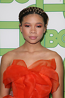 BEVERLY HILLS, CA - JANUARY 6: Storm Reid at the HBO Post 2019 Golden Globe Party at Circa 55 in Beverly Hills, California on January 6, 2019. <br /> CAP/MPI/FS<br /> &copy;FS/MPI/Capital Pictures