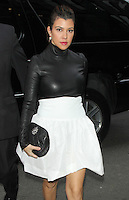 NEW YORK, NY - JANUARY 15: Kourtney Kardashian seen at SiriusXM Radio in New York City to talk about the E! reality show Kourtney & Kim Take Miami. New York City. January 15, 2013.  Credit: RW/MediaPunch Inc. /NortePhoto