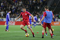 Carson, CA - Sunday January 28, 2018: Matt Polster prior to an international friendly between the men's national teams of the United States (USA) and Bosnia and Herzegovina (BIH) at the StubHub Center.