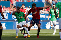 I&ntilde;igo P&eacute;rez (midfield; CA Osasuna) during the Spanish <br /> la League soccer match between CA Osasuna and Almeria at Sadar stadium, in Pamplona, Spain, on Saturday, <br /> September 8, 2018.
