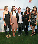 ONE Model Management's Scott Lipps and Models Attend Russell Simmons' 12th Annual Art for Life East Hampton Benefit, NY 7/30/11