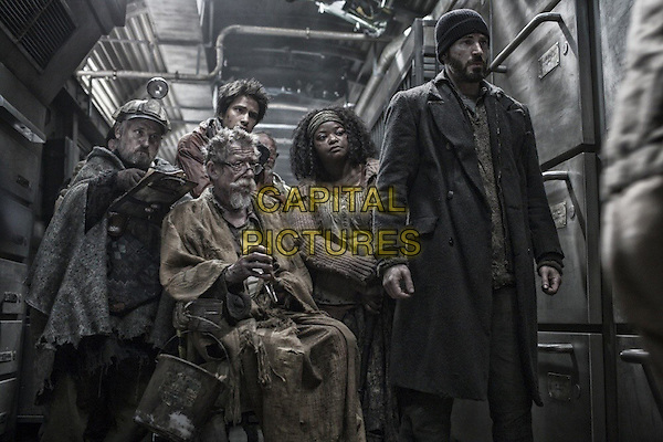 John Hurt, Octavia Spencer, Chris Evans<br /> in Snowpiercer (2013) <br /> *Filmstill - Editorial Use Only*<br /> CAP/FB<br /> Image supplied by Capital Pictures