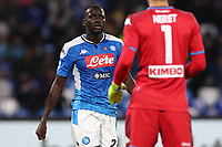 Kalidou Koulibaly of Napoli<br /> Napoli 30-10-2019 Stadio San Paolo <br /> Football Serie A 2019/2020 <br /> SSC Napoli - Atalanta BC<br /> Photo Cesare Purini / Insidefoto