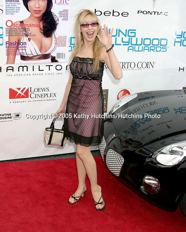 "Lisa Foiles.26th ""Young Hollywood Awards"".Henry Fonda Theater.Hollywood, CA.May 1, 2005.©2005 Kathy Hutchins / Hutchins Photo"