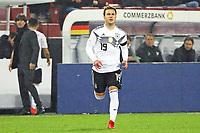 Bundestrainer Joachim Loew (Deutschland Germany) wechselt Mario Goetze (Deutschland Germany) ein fuer Ilkay Guendogan (Deutschland, Germany)- 14.11.2017: Deutschland vs. Frankreich, Rhein Energie Stadion Koeln