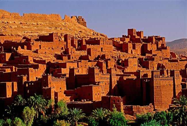 Ksar at village of Ait Benhaddou, Morocco, Africa