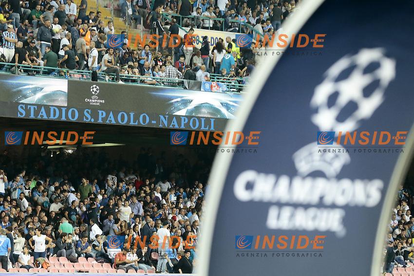 Champions League a Napoli <br /> Napoli 28-09-2016 Stadio San Paolo <br /> Football Calcio UEFA Champions League 2016/2017 Group B. Napoli - Benfica<br /> Foto Cesare Purini / Insidefoto