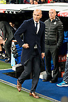 Real Madrid's coach Zinedine Zidane during La Liga match. March 20,2016. (ALTERPHOTOS/Borja B.Hojas)