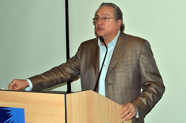 Miguel Lama (Miky), presidente de la Corporación de Empresas e Industrias de Zonas Francas de Santiago.Foto: Maximo Laureano