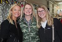 NWA Democrat-Gazette/CARIN SCHOPPMEYER Marie Jeffery (from left), Rebecca Newcome and Alyson Dunnaway enjoy Chilirhea.
