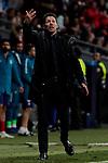 Atletico de Madrid's coach Diego Pablo Simeone during UEFA Champions League match, Round of 16, 1st leg between Atletico de Madrid and Juventus at Wanda Metropolitano Stadium in Madrid, Spain. February 20, 2019. (ALTERPHOTOS/A. Perez Meca)
