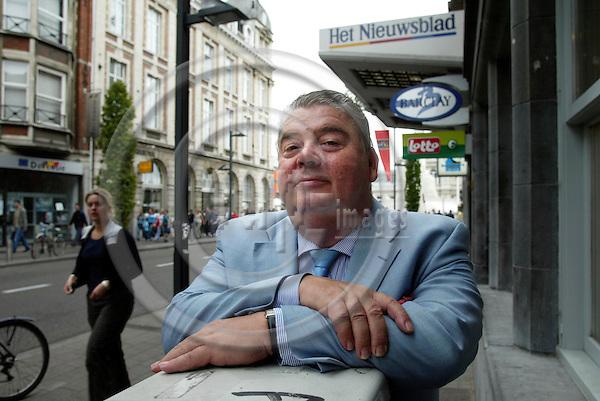 LEUVEN - BELGIUM - 03 SEPTEMBER 2006 -- Frans LOMBAERTS, Eurotraining International bvba. -- PHOTO: ERIK LUNTANG / EUP-IMAGES