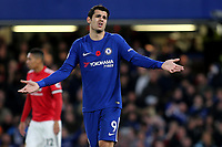 Alvaro Morata of Chelsea during Chelsea vs Manchester United, Premier League Football at Stamford Bridge on 5th November 2017