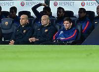 FUSSBALL  CHAMPIONS LEAGUE  HALBFINALE  RUECKSPIEL  2012/2013      FC Barcelona - FC Bayern Muenchen              01.05.2013 Nur auf der Ersatzbank: Lionel Messi (Barca)