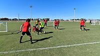 Lakewood Ranch, FL - Sunday Jan. 07, 2018: USMNT U-19 team during an U-19 USMNT training session at Premier Sports Campus in Lakewood Ranch, FL.
