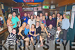 30TH: Celebrations were in full swing on Saturday night as Garry Eagar Celebrated his 30th Birthday in the Grehaound Bar, Tralee, with family and friends, (garry is seated 4th from left).................................. ....