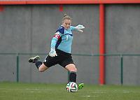 U17 Belgian Red Flames - Nigeria :<br /> <br /> Justien Odeurs<br /> <br /> foto Dirk Vuylsteke / Nikonpro.be