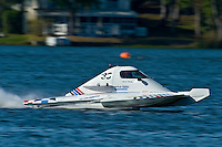 """Jim Aid, A-33 """"In Cahoots Again"""", 2.5 Mod class hydroplane"""