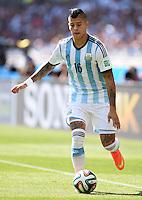 FUSSBALL WM 2014  VORRUNDE    GRUPPE F     Argentinien - Iran                         21.06.2014 Marcos Rojo (Argentinien)