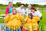 Pictured at the Duagh parish festival on Saturday was front Row L-R: Rowanne and Brianne Batton, Duagh. Front Row: Suzanne Ashford, Listowel, Emma Batton, Duagh, Eunice Harrington, Duagh, Shannon McCormac, Duagh.