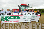 FEED: introuduceing the new KFA Grassland Demonstration on Brian Walsh's Land Cockel Shell, Road, Tralee on Friday l-r: Dave Barry, Brian O Shaughnessy, Brian Roach, John Mulvihill, John Carlgan, John Lynch (Kellihers Agri), Donal Mulvihill (Buckley's Agri), Michael Curtin and Padear McDonnell (Gold Crop).