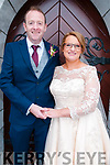 Bernadette Barrett, daughter of Nora Mary Barrett, Listowel and Mike O'Connor, son of Aileen & the late Eamonn O'Connor, Listowel who were married in St. Mary's Church, Listowel by Canon Declan O'Connor on Saturday last. Best man was Adam Relihan and the groomsman was John Pio Groarke. The bridesmaids were Mary McElligott & Anne Barrett. The reception was held in the Listowel Arms Hotel.