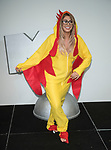Chloe Ferry of Geordie Shore series 15 celebrate the series premiere. &nbsp;<br /> in a chicken costume, in the lead-up to her world record attempt to eat the most chicken nuggets in three minutes  29th&nbsp;August&nbsp;2017