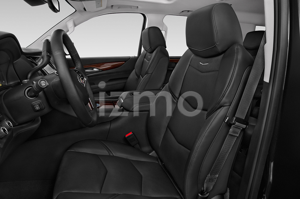 Front seat view of a 2015 Cadillac Escalade ESV 2WD Luxury 5 Door SUV Front Seat car photos